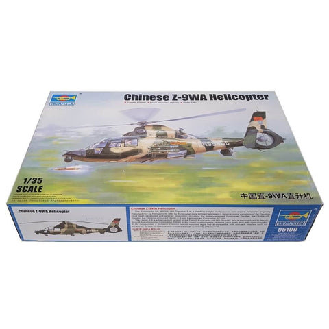 1:35 Chinese Z-9WA Helicopter - TRUMPETER