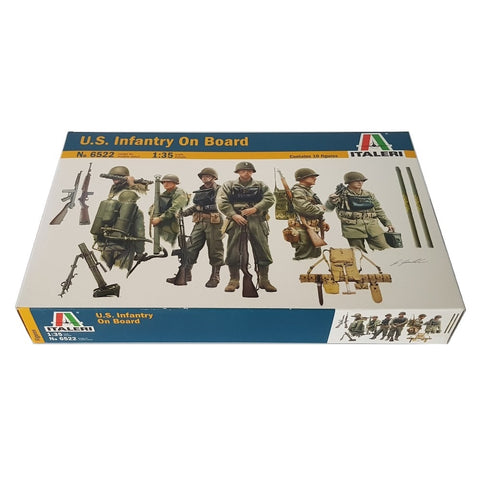 1:35 US Infantry on Board LCVP D-Day Normandy - ITALERI