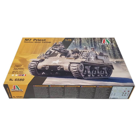 1:35 M7 Priest Howitzer Motor Carriage - ITALERI