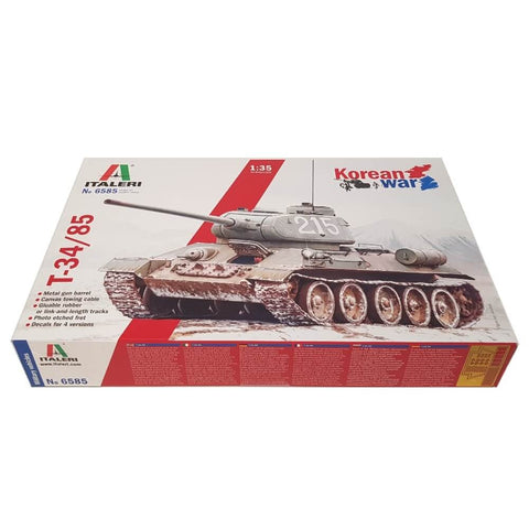 1:35 T-34/85 Korean War - ITALERI