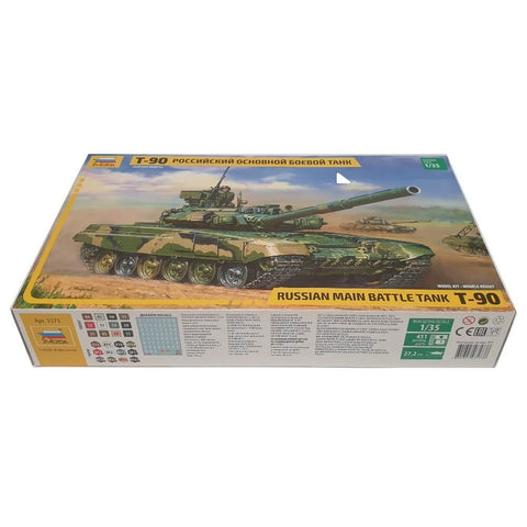 1:35 Russian T-90 Main Battle Tank - ZVEZDA