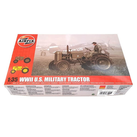 1:35 US Army WWII Military Tractor - AIRFIX