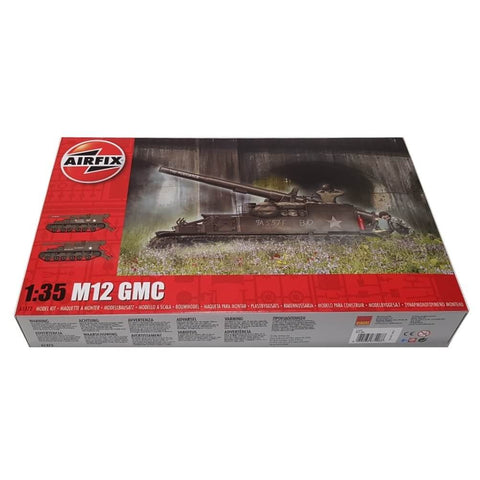 1:35 Us Army M12 GMC - AIRFIX