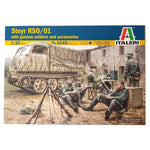 1:35 German STEYR RSO/01 with soldiers and accessories - ITALERI