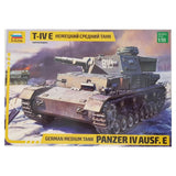 1:35 German Panzer IV Ausf. E Medium Tank - ZVEZDA