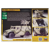 1:35 Russian GAZ-233014 Armored Vehicle with KORNET-D Missile System - ZVEZDA