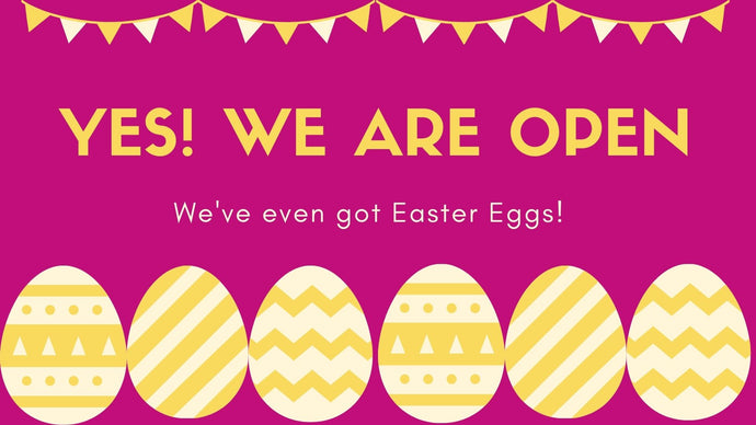 Easter/lockdown Opening Hours