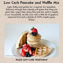 Load image into Gallery viewer, GF Low Carb Pancake & Waffle Mix (250gm)