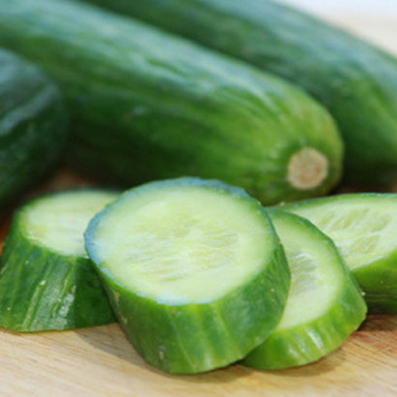 Organic and fresh Lebanese cucumbers direct from the farm available from the fruit and vegetable section of Spray Free Farmacy