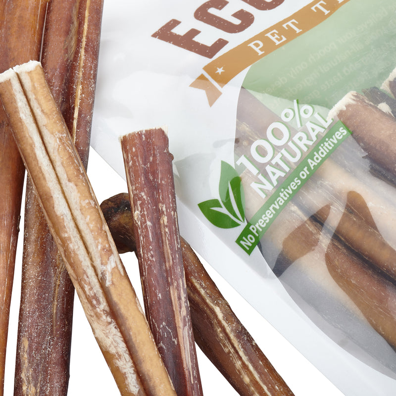 100% Natural Brazilian Bully Sticks - FDA and USDA Approved - 1 lb Bag - Thorito's Closet