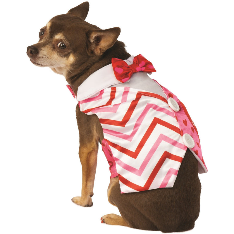 Valentine Day Vest Pet Costume