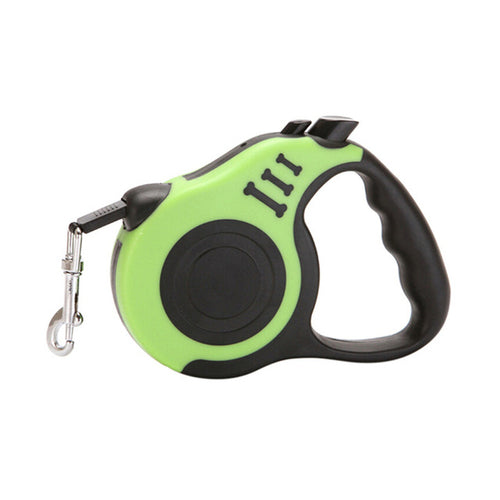 Retractable Dog Leash 3/5M Red/Blue/Yellow/Green - Thorito's Closet