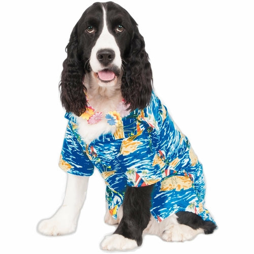 Luau Shirt Pet Costume (S-XXL) - Thorito's Closet