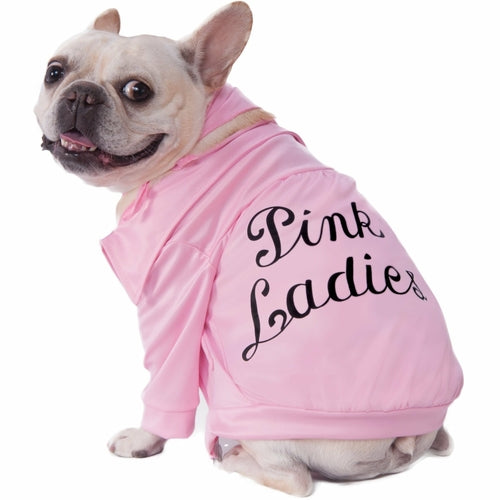 Pink Ladies Jacket Grease Movie Pet Costume - Thorito's Closet