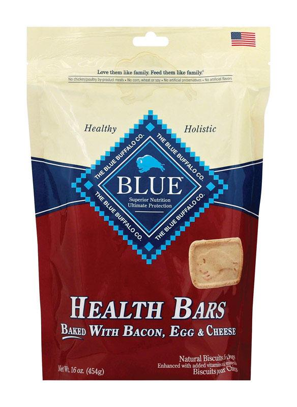 Blue Buffalo  Health Bars  Bacon, Egg and Cheese  Treats  For Dog 16 - Thorito's Closet