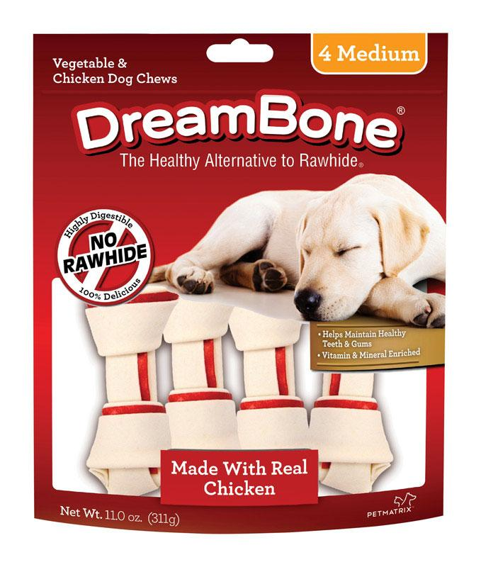 DreamBone  Chicken/Vegetables  Chews  For Dog 11 oz. 4 pk - Thorito's Closet