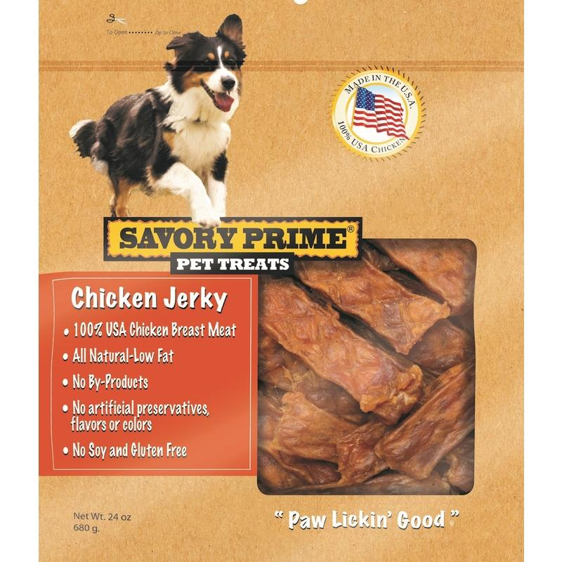 Savory Prime  Chicken Jerky  Grain Free Treats  For Dogs - Thorito's Closet