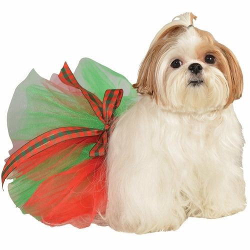 Christmas Tutu Pet Costume