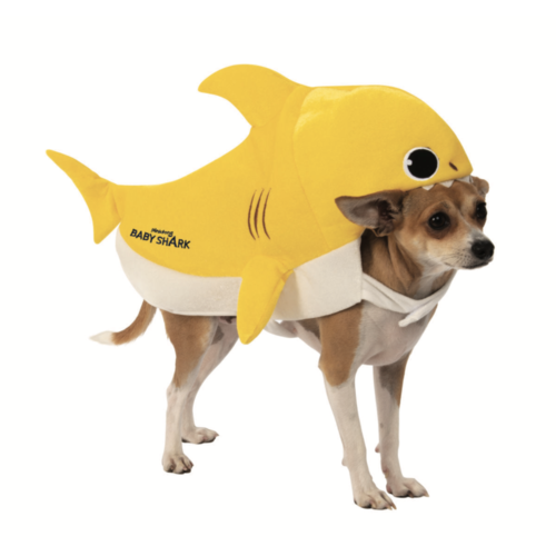 Baby Shark Pinkfong Pet Costume