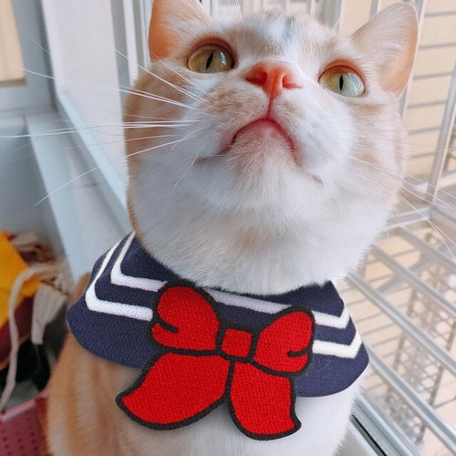 Cute Kawaii Cartoon Bandana Collar For Dogs Cats Pets - Thorito's Closet