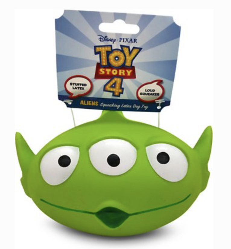 Alien Super Squeaker Disney Dog Toy - Thorito's Closet