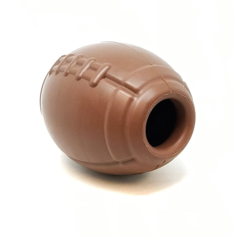 MKB Football Durable Rubber Chew Toy and Treat Dispenser - Large - Thorito's Closet