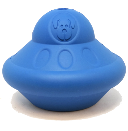 SN Flying Saucer Durable Rubber Chew Toy & Treat Dispenser - Large - Thorito's Closet