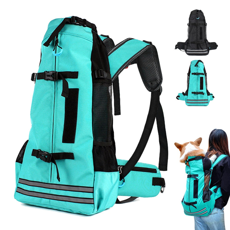Outdoor Carrier Bag for Small Medium Pets Dogs Reflective Waterproof - Thorito's Closet