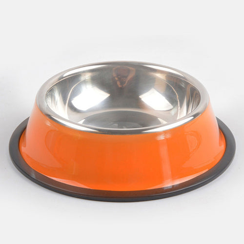 Stainless Steel Food Bowls Variety of Colors - Thorito's Closet
