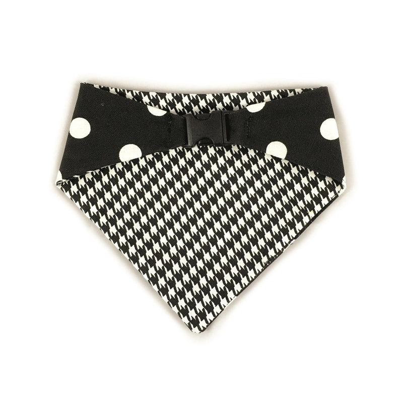 Uptown Pups Reversible Bandana - Black - Thorito's Closet