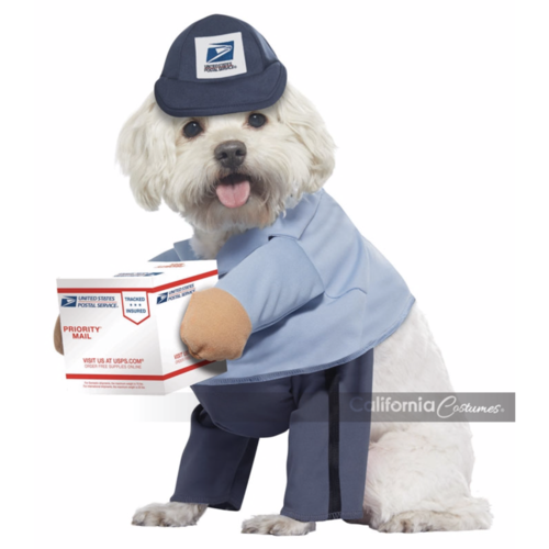 US Postal Service Mail Carrier Pet Costume - Thorito's Closet