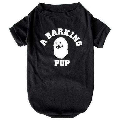 Barking Pup T-shirt | Dog Clothing - Thorito's Closet