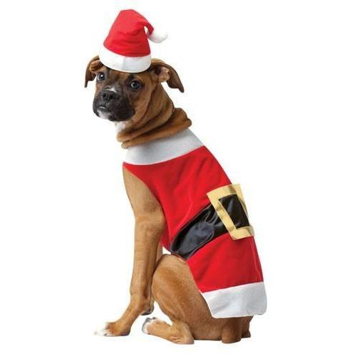 Santa Christmas Pet Costume - Thorito's Closet