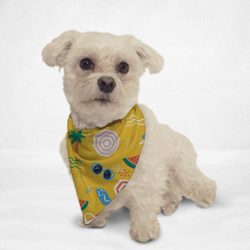 Beach Vibes Cat & Dog Bandana - Thorito's Closet