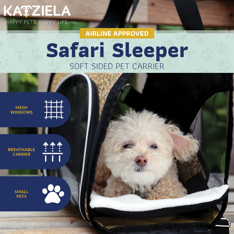 Katziela - Soft Sided Pet Carrier - Thorito's Closet