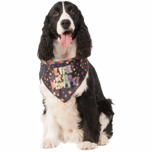 Life of the Pawty Celebration Pet Bandana - Thorito's Closet