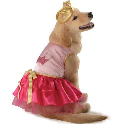 Pink Princess Pet Costume - Thorito's Closet