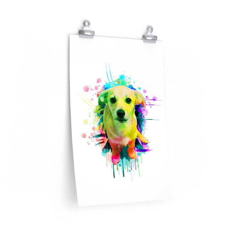 Puppy Watercolor Design