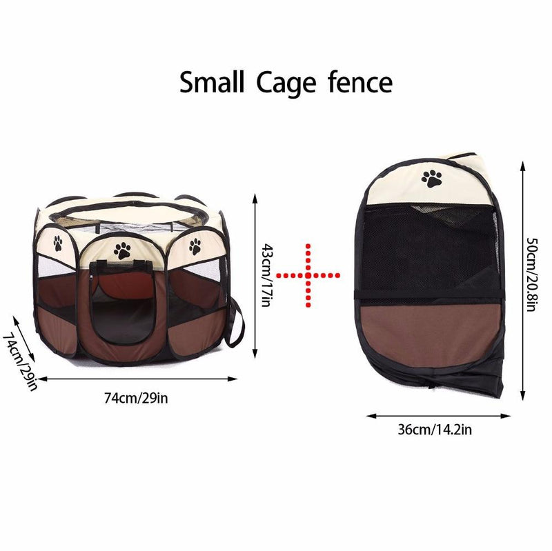 Portable Pet Tent Folding House Cage Playpen Multiple Colors/Sizes - Thorito's Closet