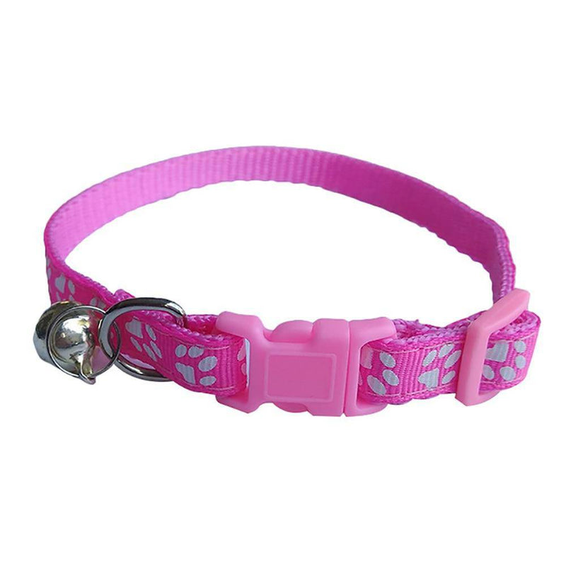 Adjustable Pet Dog Cat Leash Reflective Pet Bell Collar (MAKES NOISE) - Thorito's Closet