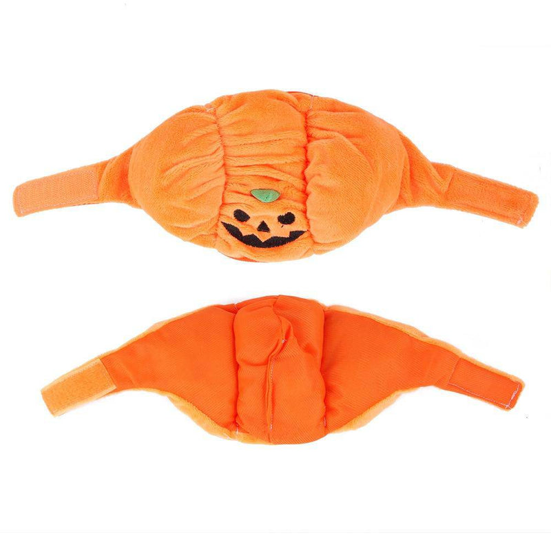 Adjustable Pumpkin Hat Costume For Small Dogs Cats Pets - Thorito's Closet
