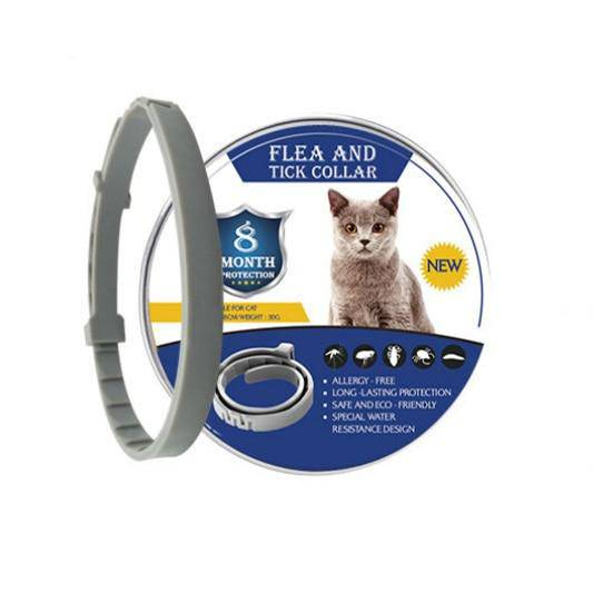 8 Month Flea Tick Collar for Dogs Cats Pet Adjustable Seresto Collar for Small Dogs Pets - Thorito's Closet