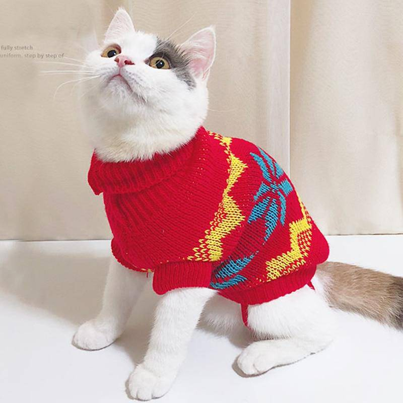 Cat Sweaters Collection - Multiple Designs And Sizes - Thorito's Closet