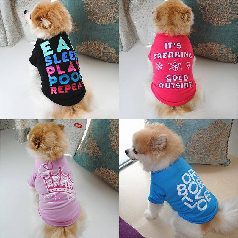 Cute Pet Shirt Collection