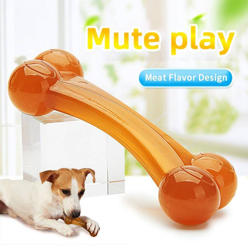 Dog Bone Chew Toy With Strong Bone Imitation For Molar Cleaning For Small Large Dogs - Thorito's Closet