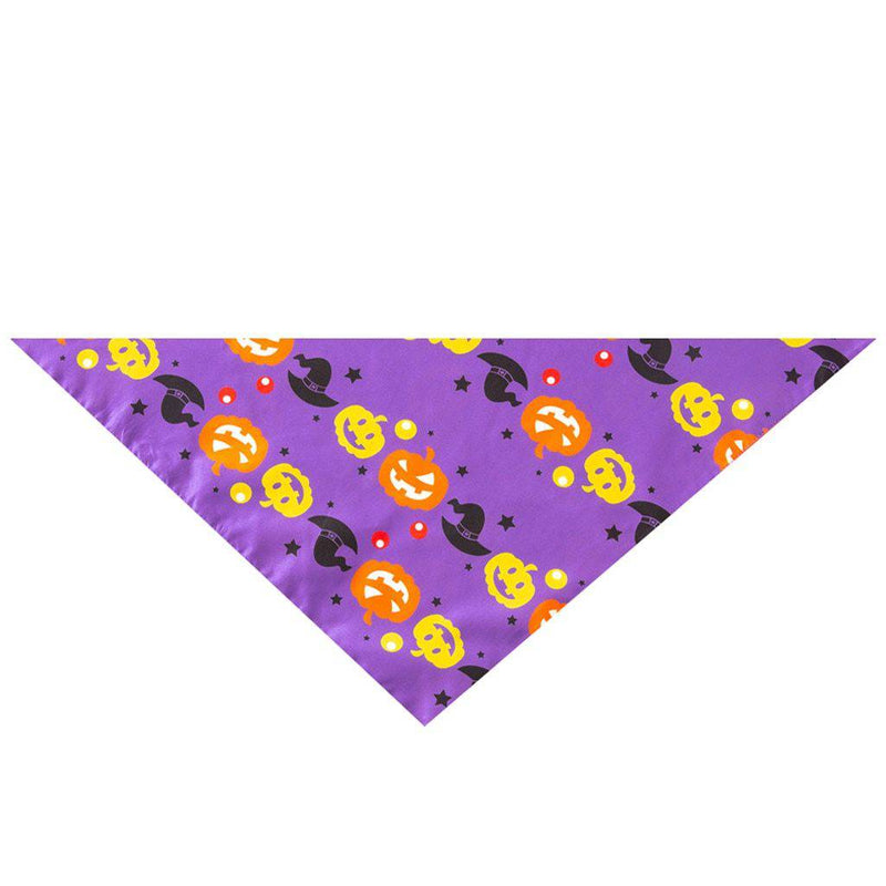 Halloween Neckerchief Bandanas For Small Medium Large Dogs Cats Pets Multiple Designs Collection - Thorito's Closet