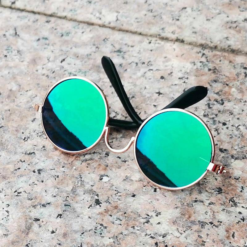 Round Colorful Sunglasses Glasses For Pet Cats Dogs Collection - Thorito's Closet