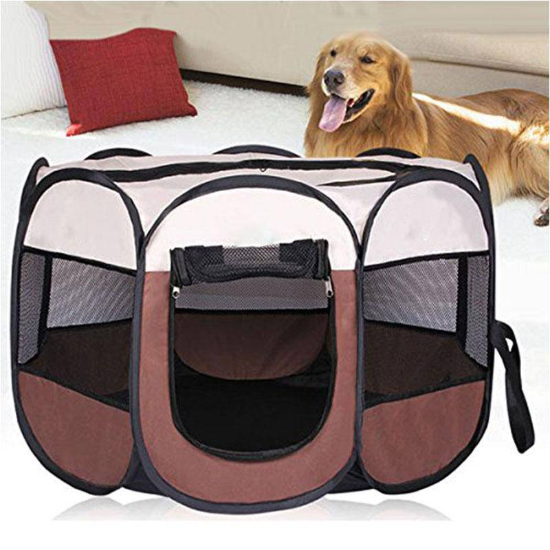 Portable Pet Tent For Large Small Dogs Puppy Cats Foldable Indoor Playpen - Thorito's Closet