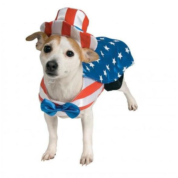 Uncle Sam Pet Costume