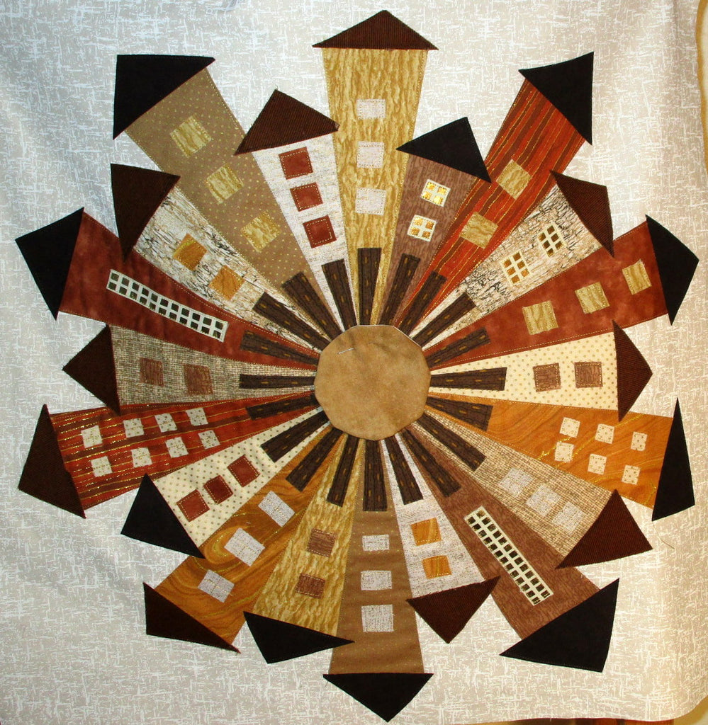 Urban Dresden Neighbourhood Quilt Block